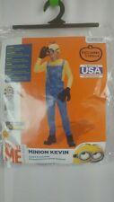 Minion Kevin Costume Kids Halloween Despicable Me Small 4-6 Rubies 610785