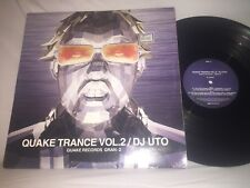 QUAKE TRANCE VOL. 2 / DJ UTO - 2003 QUAKE RECORDS ELECTRONIC TRANCE LP