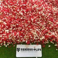 Red Blossom Scatter -Foliage Scenery Model Railway Flower Tree Bush wargames