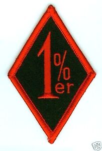 Cochons Outlaw Emplacement Motard Rider Collections : 1% Cateur Support Patch