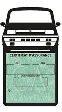 Porte vignette assurance Renault R5 Alpine Turbo voiture Stickers auto rétro