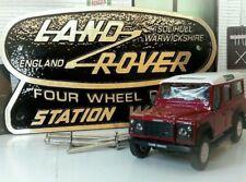 Land Rover Defender 110 Station Wagon Brass Bronze Tub Heritage Rear Body Badge