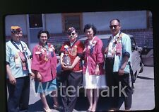 1963 Kodachrome Photo slide Lions Club Members  Portland Oregon Oldsmobile