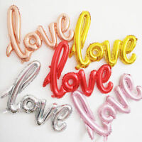 Love Foil Balloon Wedding Engagement Birthday Party Decoration Props Romantic