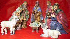 Stewart Sherwood Nativity Set 2001 Holy Night First Edition MIB