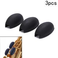 3pcs/lot Saxophone Rubber Keys Risers Woodwind Instrument Thumb Finger Rest、BDA
