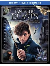 Fantastic Beasts and Where to Find Them (Blu-ray/DVD,Digital HD) Region 1/A