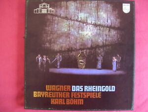 Richard Wagner, Das Rheingold, 5 LPs, Bayr.Festsp., Karl Böhm