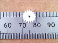 16 Tooth 9mm Plastic Gear Cog Wheel for 2mm Model Motor Gearbox Shaft