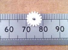 16 Dientes 9mm Plástico Gear Engranaje Rueda De 2 Mm Modelo Motor Caja De Cambios De Eje