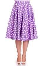 Hell Bunny Knee Length Casual Flippy, Full Skirts for Women
