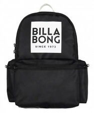 NEW + TAG BILLABONG 'STATEMENT' BACKPACK SCHOOL GYM BAG 22L BLACK WOMENS GIRLS
