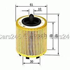 BOSCH Oil Filter Insert Fits CHEVROLET FIAT ALFA ROMEO 159 OPEL SAAB 1.8-2.4 95-