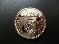 1970 PROOF SCOTTISH SHILLING COIN THE LAST EVER MINTED 1970 SHILLING CAPSULED.
