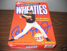 CAL RIPKEN JR.  ORIOLES    WHEATIES CEREAL BOX