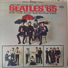 BEATLES '65 Stereo ST-2228 Vinyl Record Apple Label LP