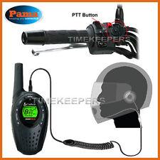 PAMA HM-100 Primer plano Cara Casco Auriculares Cobra MT245 MT750 MT600 MT645