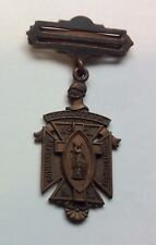 Columbian NY Knights Templar Commandery No 1 Medal - No Ribbon