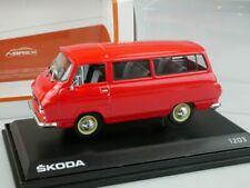1/43 Abrex Skoda 1203 rot diecast 143ABS-705BK + Box 112148