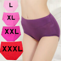 Cotton Underwear Briefs High Waist Women's Panties Non-trace Seamless Sexy NT