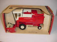 1/20 Vintage International 915 Combine W/Super Nice Red Box by ERTL (1974)!
