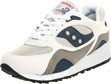Saucony Men's Shadow 6000 Running Shoe, White/Grey/Navy, 11.5 D(M) US