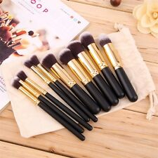 8pcs Makeup Brush Blend Shadow Angled Eyeliner Smoked Bloom Eye Brushes Set MG