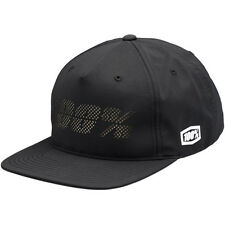 100% fragmento Ride 100% cap con Black negro MX enduro motocross quad MTB