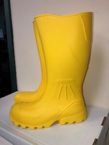 Billy Boots CRUISER Yellow Men/Women Waterpoof Safety Toe EVA 16 In. Boots 4-13