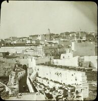 MAROC Tanger Canons Maghreb 1904, Photo Stereo Grande Plaque Verre VR9L5n12