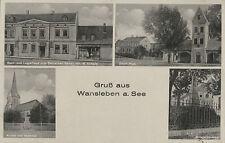 Wansleben bei Amsdorf , Röblingen  MansfelderLand Gsthaus W.Schade ...