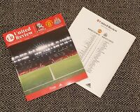 Manchester United v Newcastle United 21/2/21 PREMIER LEAGUE Programme LAST FEW!!