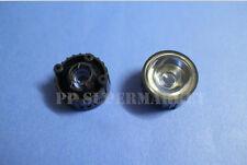 10pcs 30 degree led Lens for 1W 3W High Power LED with screw 20mm White holder
