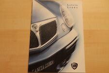 76419) Lancia Lybra Prospekt 08/1999
