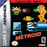 Classic NES Series: Metroid - Nintendo Game Boy Advance GBA