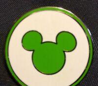 Disney Pin 115283 WDW MagicBand Logo Green Mickey Mouse Ears Icon