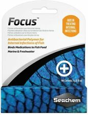 Seachem Focus Antibacterial Polymer Aids In Treating Internal Infections 5 Grams