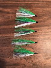 Bucktail River Streamer Flies- Hand Tied - Walleye, White Bass, Salmon (85)