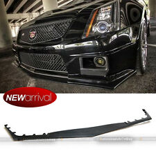Fit 09-14 Cadillac CTS V 2dr 4dr Wagon HH Style Front Bumper Lip Body Kit Add on