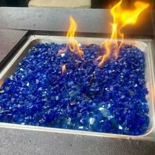 Broken Tempered Glass Granules Furnace Fire Pit Glass Rocks For Fireplace
