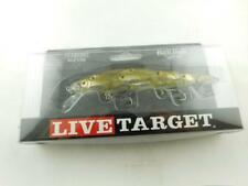 Live Target Yearling Jerkbait Pearl/Olive Shad New in pack Runs 4'-5' Deep