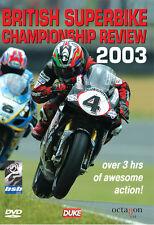 British Superbike Review 2003  DVD