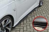 CUP Seitenschweller Schweller aus ABS für Opel Insignia B OPC Line Schwarz Glanz