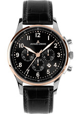Jacques Lemans 1-1656c London Classic Chronograph Analogue Mens Watch Brand New