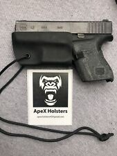 Holster, Fits Glock 43 and 43x, Trigger Guard Cover For Pocket/Purse Carry.
