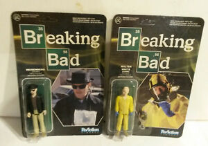 Breaking Bad Walter White Heisenberg 2015 Funko Reflection action figure NOS lot