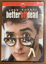 Better Off Dead (Dvd, 1985) John Cusack Savage Steve Holland Ex 100%Play Tested