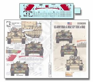 Echelon D356205 1/35 US Army M1A1s & M1A2 SEP TUSK in Iraq