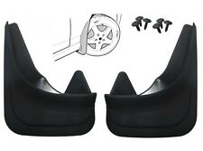Pair Moulded Universal Fit Mud Flap Mudflaps Front or Rear to fit Peugeot Models
