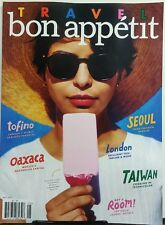 Bon Appetit May 2017 Travel Staying Cool In Oaxaca Mexico Seoul FREE SHIPPING sb